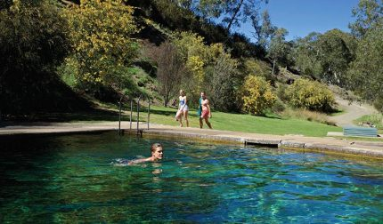 Thermal Pool at Yarrangobilly